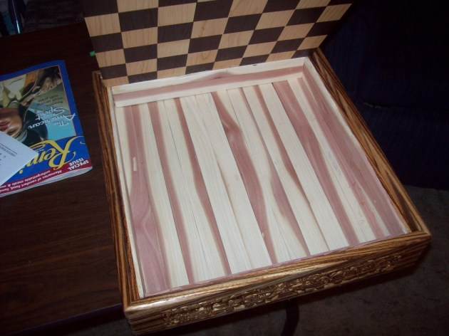 chessboard chest plans
